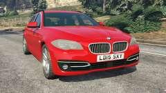 BMW 525d (F11) Touring 2015 (UK)