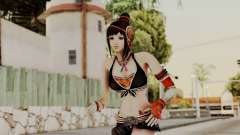 Dynasty Warriors 8 - Bao Sannian Black Costume для GTA San Andreas