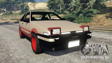 Toyota AE86 Sprinter [Beta] для GTA 5