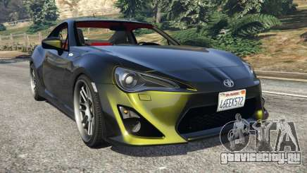 Toyota GT-86 v1.2 для GTA 5