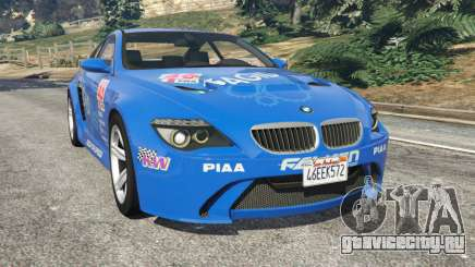 BMW M6 (E63) WideBody v0.1 [Pagid RS] для GTA 5