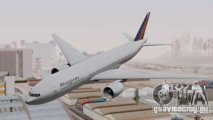 Boeing 777-200LR Philippine Airlines для GTA San Andreas