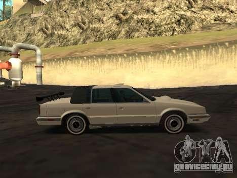 Chrysler New Yorker 1988 для GTA San Andreas двигатель