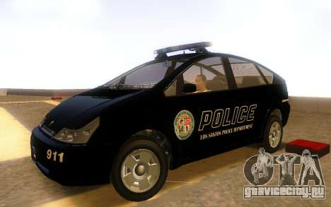 Karin Dilettante Police Car для GTA San Andreas