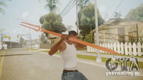 Spear of Longinus для GTA San Andreas третий скриншот