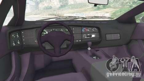 Jaguar XJ220 v0.9 для GTA 5 вид сзади справа