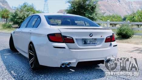 BMW M5 F10 2012 для GTA 5