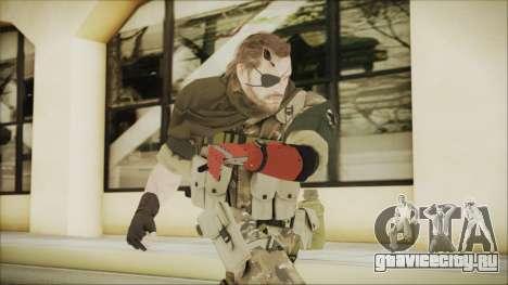 MGSV Phantom Pain Snake Scarf Wetwork для GTA San Andreas