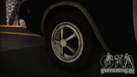 Police Car R.P.D. from RE 3 Nemesis для GTA San Andreas вид сзади слева