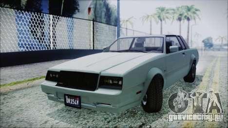 GTA 5 Willard Faction для GTA San Andreas вид сзади слева