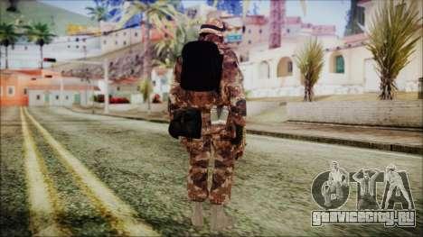 Chinese Army Desert Camo 3 для GTA San Andreas третий скриншот
