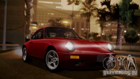RUF CTR Yellowbird (911) 1987 IVF АПП для GTA San Andreas