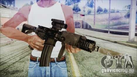 MK18 SEAL для GTA San Andreas третий скриншот