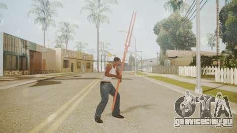 Spear of Longinus для GTA San Andreas второй скриншот