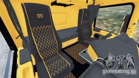 Scania R730 для GTA 5 вид справа