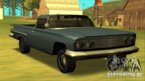 Voodoo El Camino v1 для GTA San Andreas