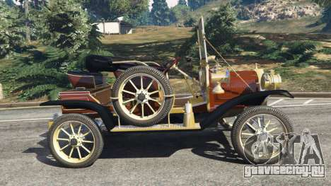 Ford Model T [two colors] для GTA 5 вид слева