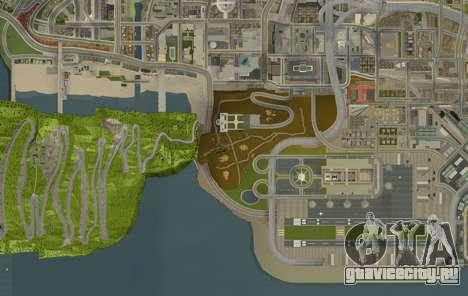 Stelvio Pass Drift Track для GTA San Andreas четвёртый скриншот