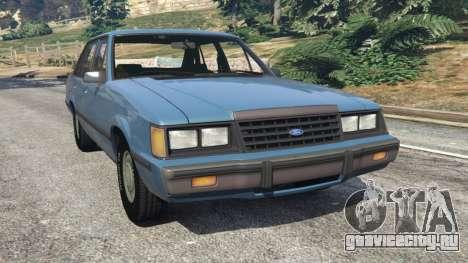 Ford LTD LX 1985 для GTA 5