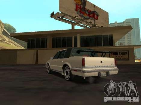 Chrysler New Yorker 1988 для GTA San Andreas салон