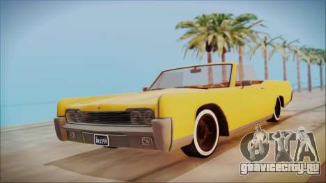 GTA 5 Vapid Chino Bobble Version для GTA San Andreas