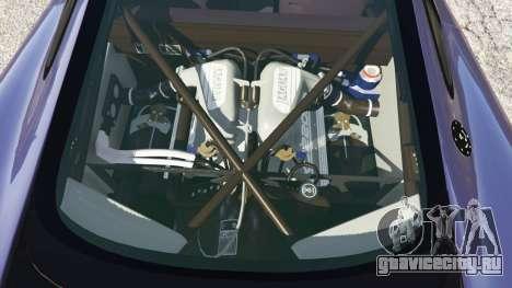Jaguar XJ220 v0.9 для GTA 5 вид справа