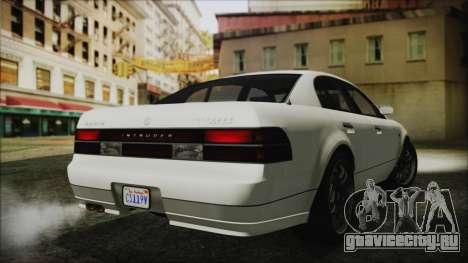 GTA 5 Karin Intruder IVF для GTA San Andreas вид слева