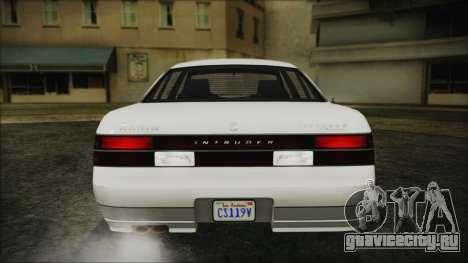 GTA 5 Karin Intruder IVF для GTA San Andreas вид сзади