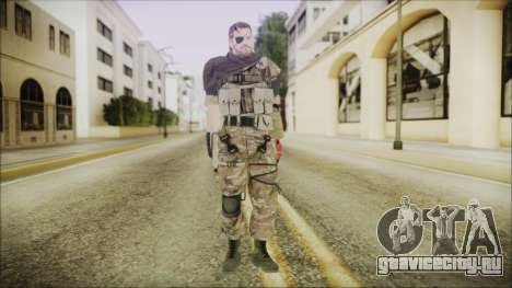 MGSV Phantom Pain Snake Scarf Wetwork для GTA San Andreas второй скриншот