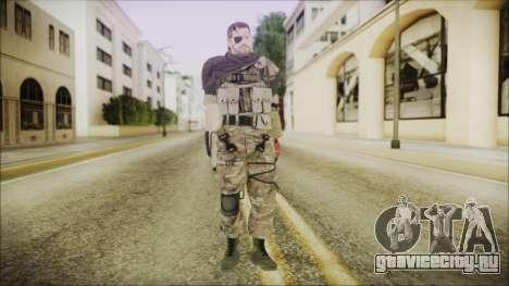 MGSV Phantom Pain Snake Scarf Wetwork для GTA San Andreas второй скриншот
