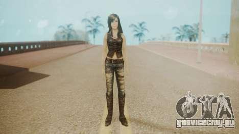 Tifa Black для GTA San Andreas второй скриншот