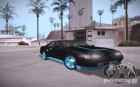 Elegy DRIFT KING GT-1 (Stok wheels) для GTA San Andreas