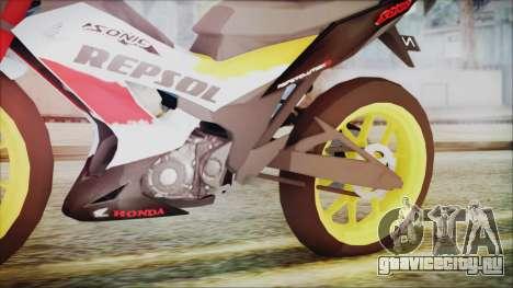 Honda Sonic 150R AntiCacing для GTA San Andreas вид справа