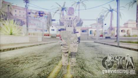 MGSV Phantom Pain Snake Scarf Olive Drab для GTA San Andreas третий скриншот