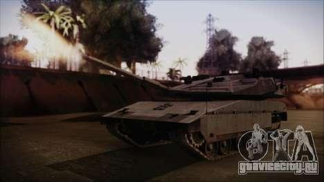 M2A1 Slammer Tank для GTA San Andreas
