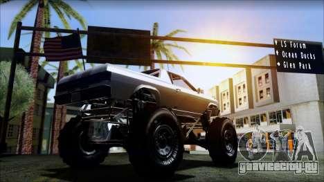 GTA 5 Cheval Marshall для GTA San Andreas вид сзади слева