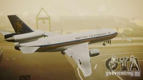 McDonnell-Douglas DC-10-30 British Caledonian для GTA San Andreas вид слева