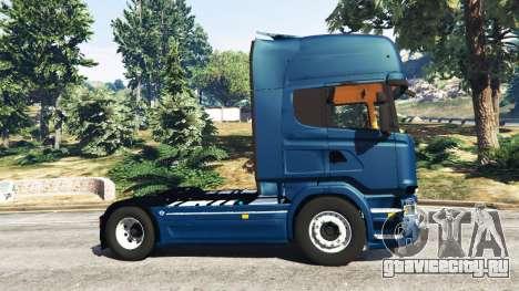 Scania R730 для GTA 5 вид слева