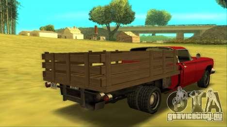 Voodoo El Camino v2 (Truck) для GTA San Andreas вид справа