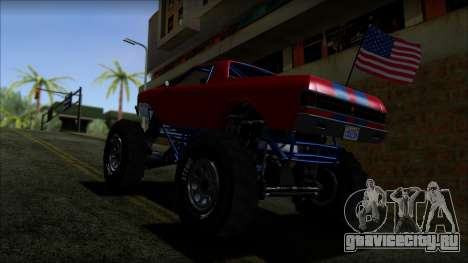 GTA 5 Cheval Marshall IVF для GTA San Andreas вид сзади слева