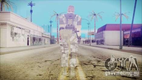 MGSV Phantom Pain Snake Normal Square для GTA San Andreas третий скриншот
