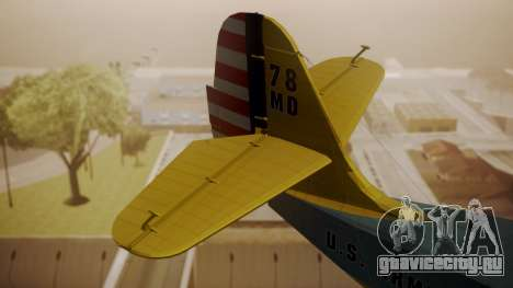 Grumman G-21 Goose N130FB для GTA San Andreas вид сзади слева