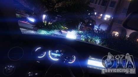 Mercedes-Benz C63 AMG v1 для GTA 5 колесо и покрышка