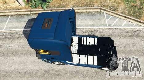 Scania R730 для GTA 5 вид сзади