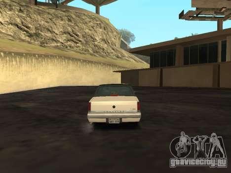 Chrysler New Yorker 1988 для GTA San Andreas вид справа