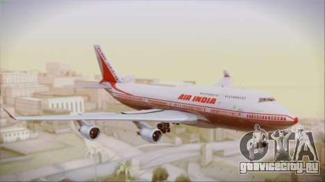 Boeing 747-437 Air India Tanjore New Skin для GTA San Andreas