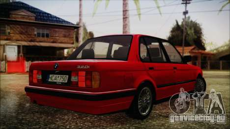 BMW M3 E30 Sedan для GTA San Andreas вид слева