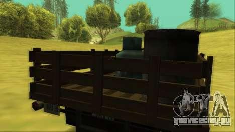 Voodoo El Camino v2 (Truck) для GTA San Andreas двигатель