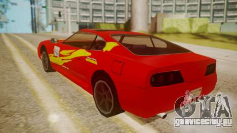 Jester FnF Skins 1 для GTA San Andreas вид сверху