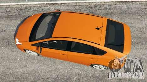 Toyota Prius v1.5 для GTA 5 вид сзади